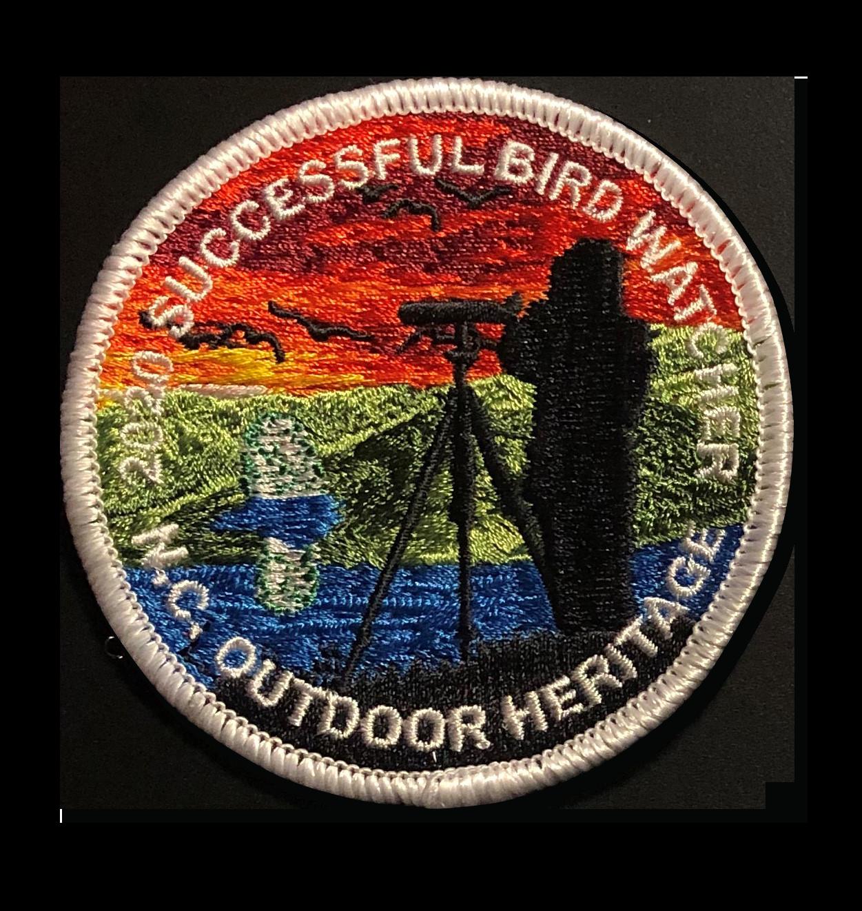 Successful Birdwatcher Patch from A-B Emblem
