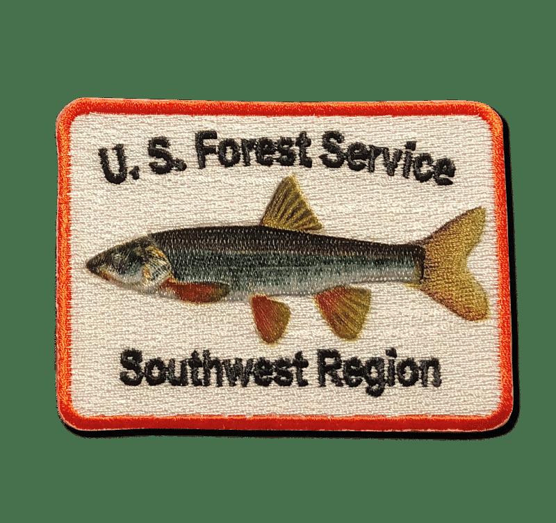 A-B Emblem Photo Gallery Image. US Forest Service Southwest Region